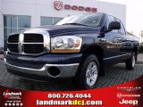 2006 Patriot Blue Pearl Dodge Ram 1500 SLT Quad Cab #23519938