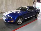 2005 Sonic Blue Metallic Ford Mustang V6 Deluxe Coupe #23580117