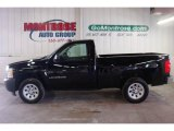 2008 Black Chevrolet Silverado 1500 Work Truck Regular Cab #23579658