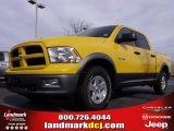 2009 Detonator Yellow Dodge Ram 1500 TRX Crew Cab #23519813