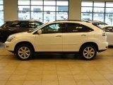 2009 Crystal White Mica Lexus RX 350 AWD #23530181