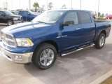 2010 Deep Water Blue Pearl Dodge Ram 1500 Big Horn Crew Cab #23522188