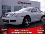 2008 White Suede Ford Fusion SE #23519889