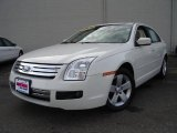 2008 White Suede Ford Fusion SE #23563738