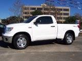 2007 Super White Toyota Tundra TRD Regular Cab 4x4 #23657420