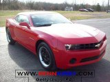 2010 Victory Red Chevrolet Camaro LS Coupe #23655959