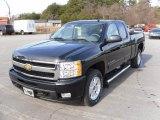 2010 Black Granite Metallic Chevrolet Silverado 1500 LTZ Extended Cab 4x4 #23662830