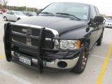 2003 Black Dodge Ram 1500 SLT Quad Cab #23655949