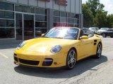 2008 Porsche 911 Speed Yellow