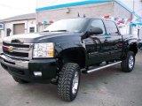 2010 Black Chevrolet Silverado 1500 LT Crew Cab 4x4 #23642679