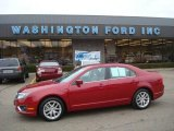 2010 Sangria Red Metallic Ford Fusion SEL #23654403