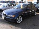 2004 Mystic Blue Metallic BMW 3 Series 325i Sedan #23641124