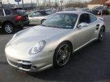 2007 Arctic Silver Metallic Porsche 911 Turbo Coupe #23637935
