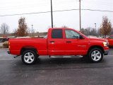 2006 Flame Red Dodge Ram 1500 SLT Quad Cab 4x4 #23641824