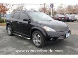 2005 Super Black Nissan Murano S #23638309