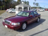 2009 Dark Toreador Red Metallic Mercury Grand Marquis LS #23659019