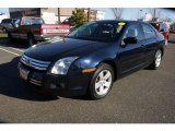 2008 Dark Blue Ink Metallic Ford Fusion SE #23653429