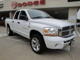 2006 Bright White Dodge Ram 1500 Laramie Quad Cab 4x4 #23728250