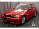 2006 Electric Red BMW 3 Series 325i Sedan #2367956