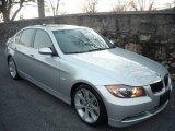 2007 Titanium Silver Metallic BMW 3 Series 335i Sedan #2370399