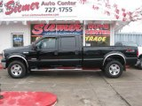 2005 Black Ford F350 Super Duty Lariat Crew Cab 4x4 #23764952