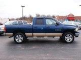 2004 Atlantic Blue Pearl Dodge Ram 1500 SLT Quad Cab 4x4 #23753410