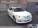 2008 Super White Toyota Camry XLE V6 #23798355