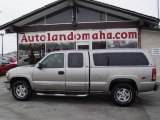 2002 Light Pewter Metallic Chevrolet Silverado 1500 LT Extended Cab 4x4 #23793835
