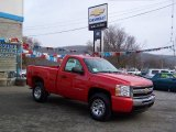 2010 Victory Red Chevrolet Silverado 1500 Regular Cab 4x4 #23783828