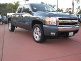 2007 Blue Granite Metallic Chevrolet Silverado 1500 LT Extended Cab 4x4 #23784633