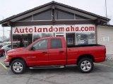 2003 Flame Red Dodge Ram 1500 SLT Quad Cab 4x4 #23793831