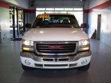 2005 Summit White GMC Sierra 1500 SLT Extended Cab 4x4 #23778322