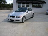 2006 Titanium Silver Metallic BMW 3 Series 325i Sedan #238317
