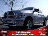 2010 Bright Silver Metallic Dodge Ram 1500 Big Horn Crew Cab #23790502