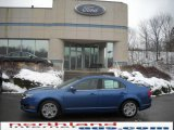 2010 Sport Blue Metallic Ford Fusion SE #23783119