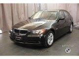 2008 Jet Black BMW 3 Series 328xi Sedan #23838579
