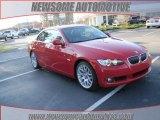 2010 Crimson Red BMW 3 Series 328i Convertible #23861610