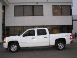 2008 Summit White Chevrolet Silverado 1500 LT Crew Cab 4x4 #23856423