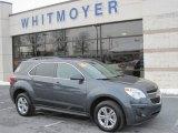2010 Cyber Gray Metallic Chevrolet Equinox LT AWD #23856798
