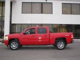 2009 Victory Red Chevrolet Silverado 1500 LTZ Crew Cab 4x4 #23856431