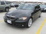 2008 Jet Black BMW 3 Series 335i Sedan #23854415