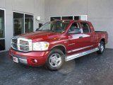 Inferno Red Crystal Pearl Dodge Ram 1500 in 2007