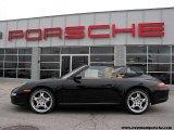 2007 Black Porsche 911 Carrera Cabriolet #2387