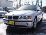 2003 Titanium Silver Metallic BMW 3 Series 325i Sedan #23861178