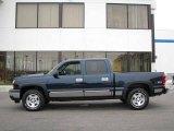 2006 Dark Blue Metallic Chevrolet Silverado 1500 Z71 Crew Cab 4x4 #23856393