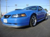2003 Azure Blue Ford Mustang Mach 1 Coupe #23913392
