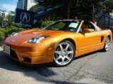 2004 Acura NSX Imola Orange Pearl