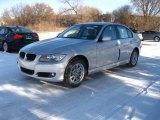 2010 Titanium Silver Metallic BMW 3 Series 328i xDrive Sedan #23944612