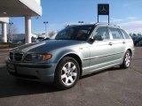 2003 Steel Blue Metallic BMW 3 Series 325xi Wagon #23916788