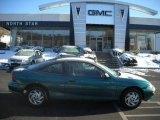 1998 Manta Green Metallic Chevrolet Cavalier Coupe #23974229